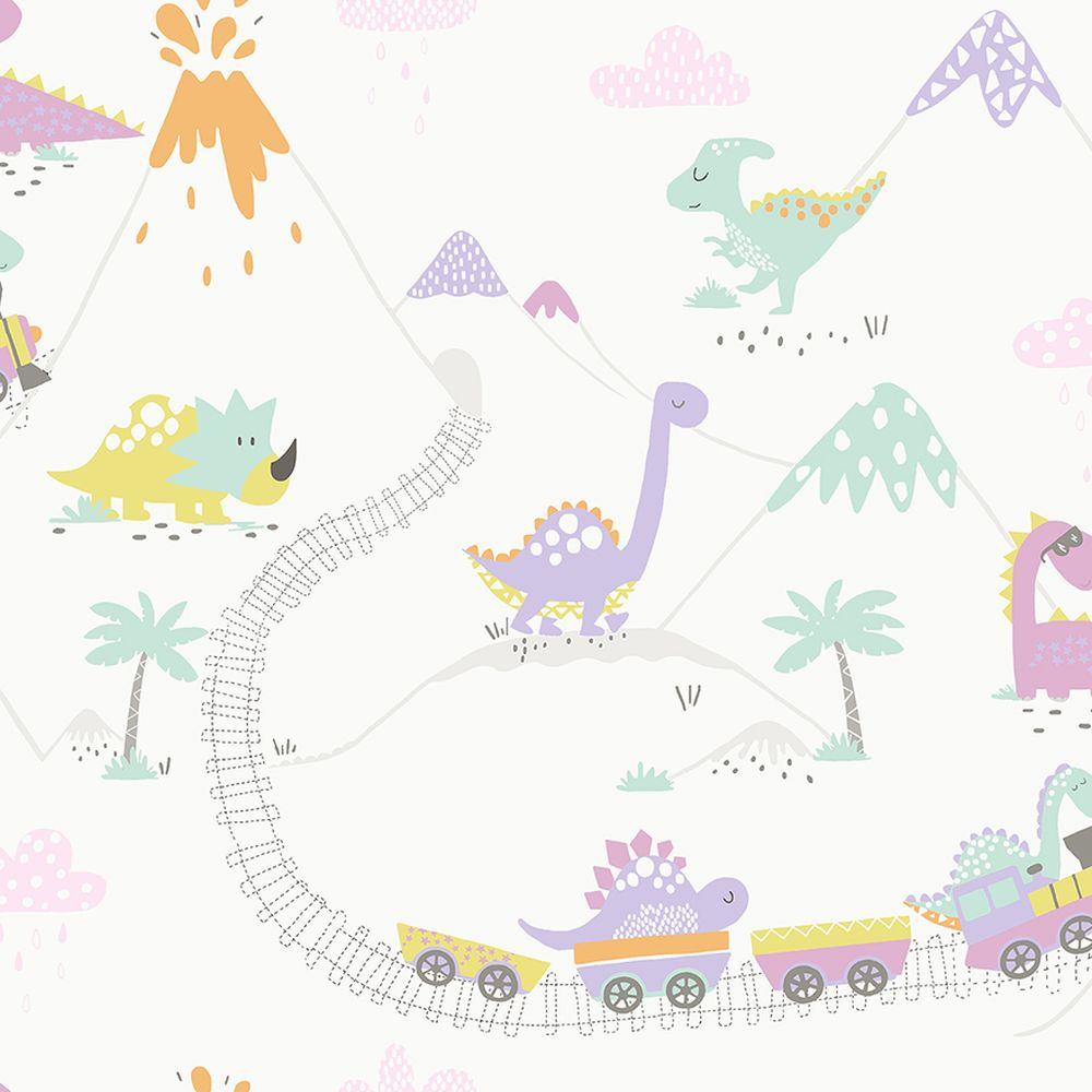 Albany Dino Town Multi Wallpaper main image