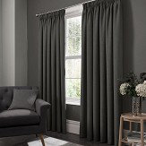 Studio G Elba Pencil Pleat Curtains Steel Ready Made Curtains - Product code: M1105/04/46X5