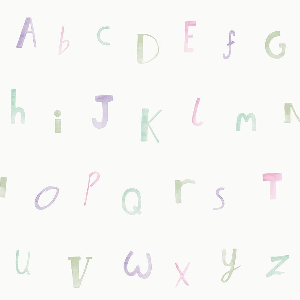 Albany Alphabet  Heather Wallpaper main image