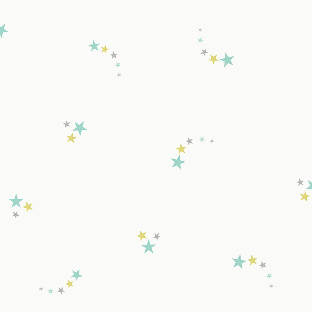 Albany Shooting Stars Teal Wallpaper - Product code: 12592