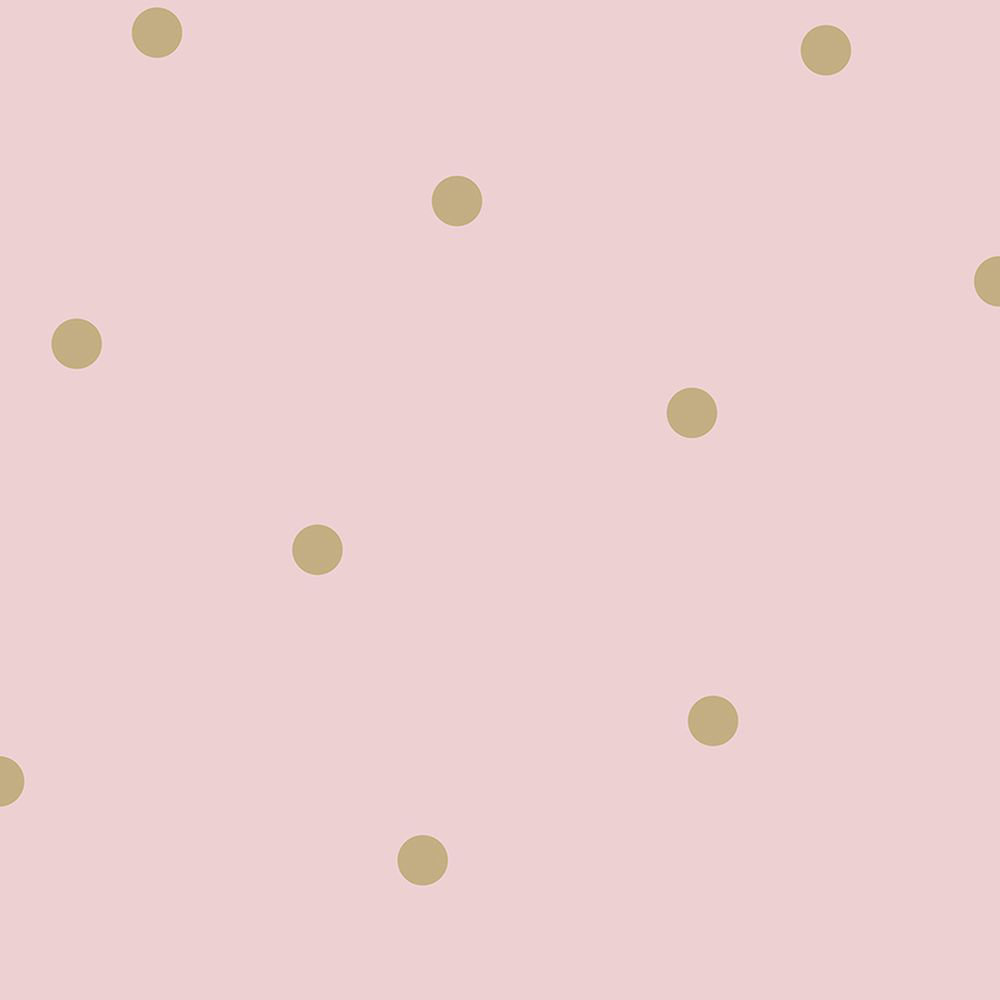 Albany Dotty Pink and Gold Wallpaper - Product code: 12604