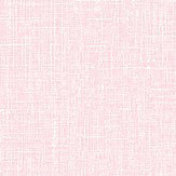 Albany Fiore Linen Texture Pastel Pink Wallpaper