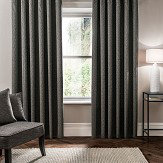 Studio G Verona Eyelet Curtains Charcoal Ready Made Curtains - Product code: M1102/01/66X5