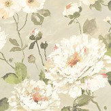 Albany Fiore Bloom Taupe Wallpaper