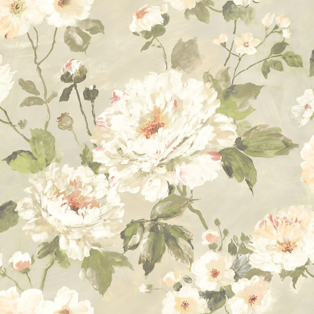 Albany Fiore Bloom Taupe Wallpaper - Product code: FO3102