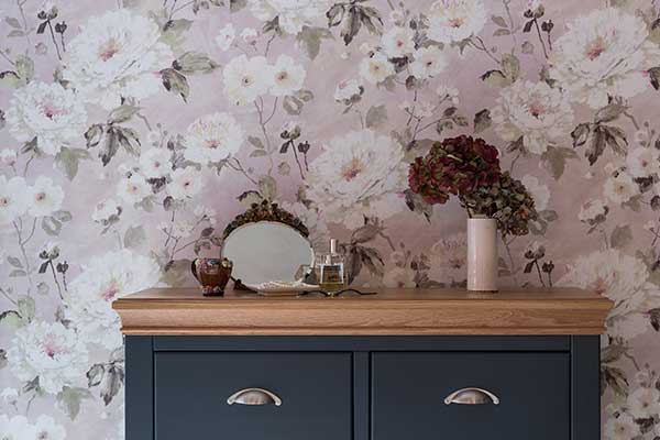 Albany Fiore Bloom Pink Wallpaper
