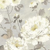 Albany Fiore Bloom Grey Wallpaper