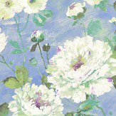 Albany Fiore Bloom Cornflower Blue Wallpaper