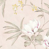 Albany Fiore Oriental Pink Wallpaper