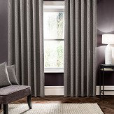 Studio G Verona Eyelet Curtains Smoke Ready Made Curtains - Product code: M1102/03/46X9