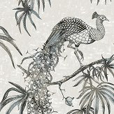 Fardis Eterno Charcoal / Silver Wallpaper - Product code: 10891