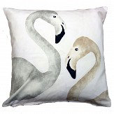 A Shade Wilder Flamingo Beach Daybreak Cushion