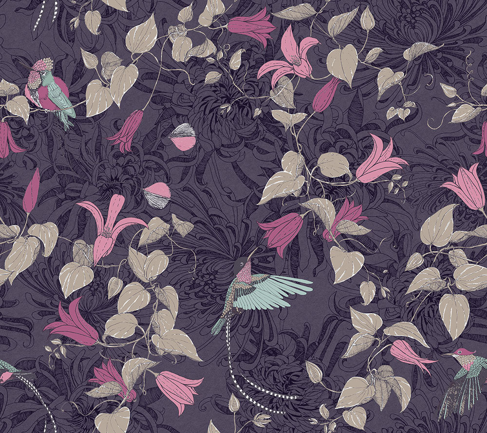 Fardis Lucia Purple Wallpaper main image