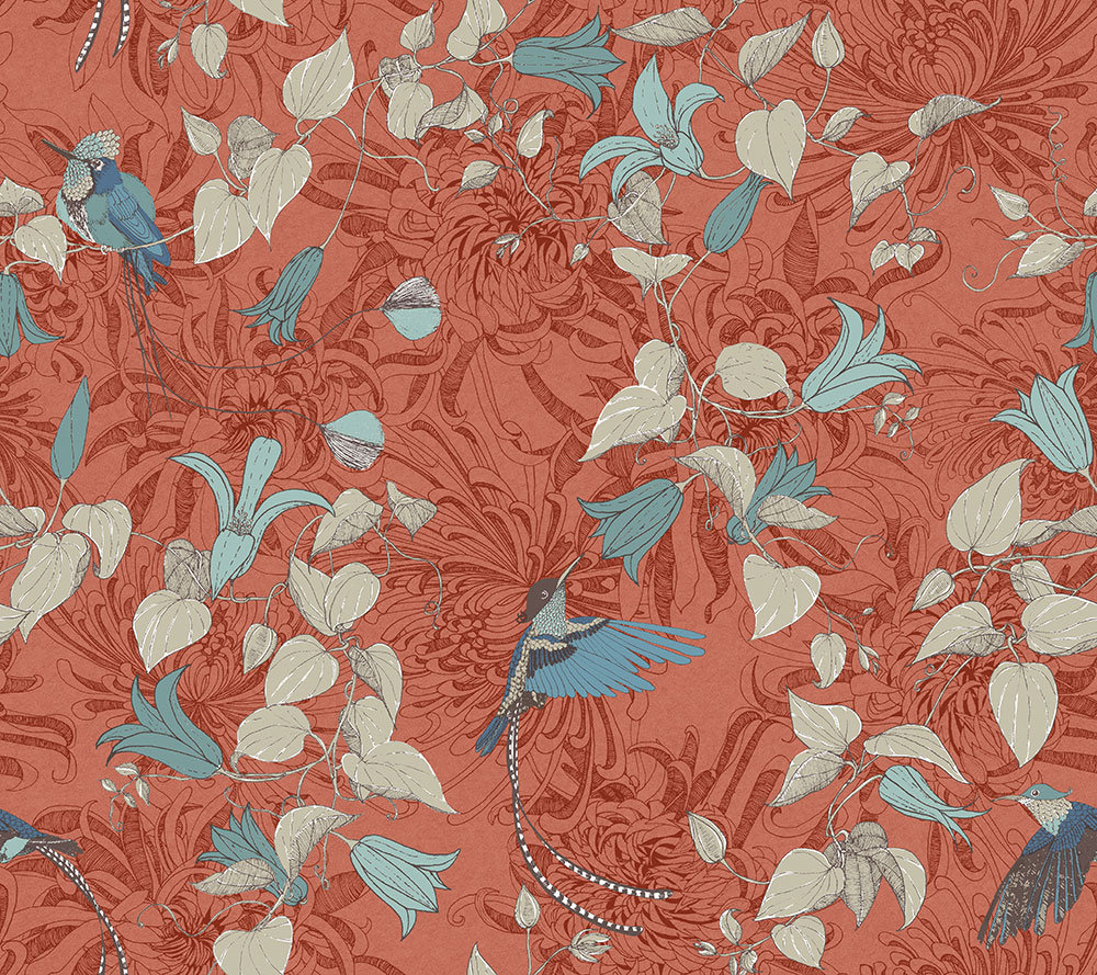 Fardis Lucia Orange Wallpaper main image