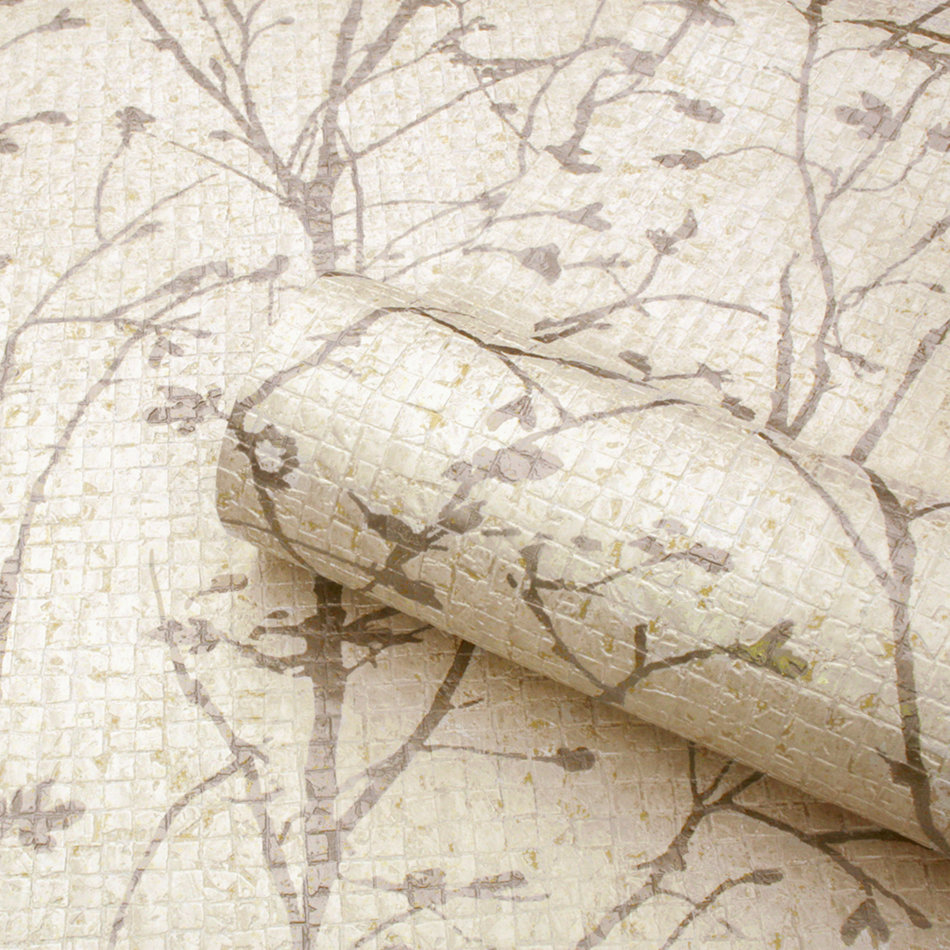 Albany Ravello Tree Warm Cream Wallpaper - Product code: 1701