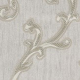 Albany Perlina Trail Silver Wallpaper