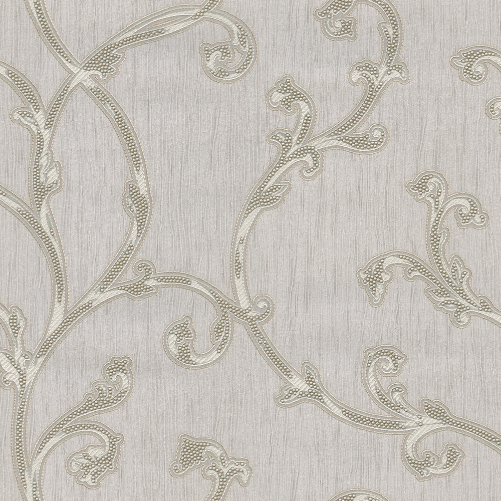 Perlina Trail by Albany - Silver - Wallpaper - 5972