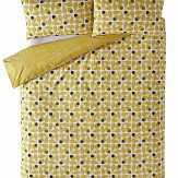 Orla Kiely Acorn Cup Housewife Pillowcases Pair Olive