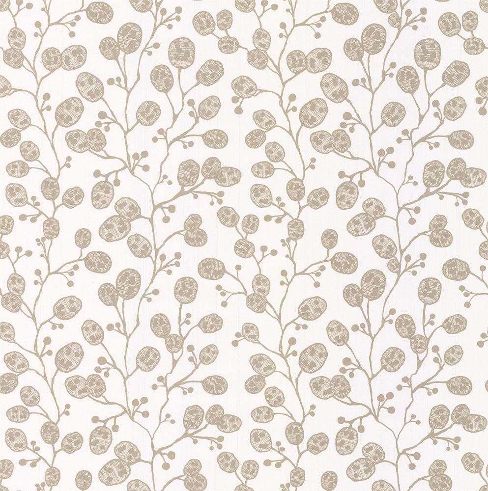Clarke & Clarke Honesty Ivory / Gold Wallpaper - Product code: W0092/02