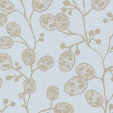 Clarke & Clarke Honesty Mineral / Gold Wallpaper - Product code: W0092/05