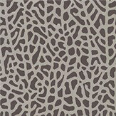 Clarke & Clarke Isla Charcoal / Gold Wallpaper