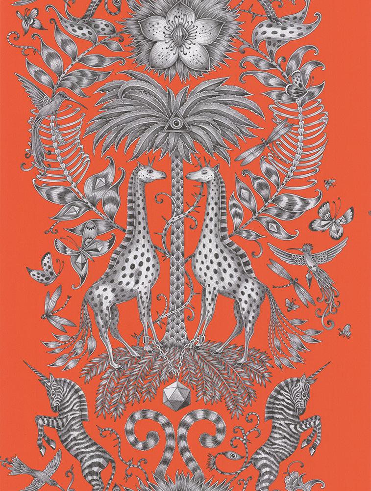 Emma J Shipley Kruger Flame Wallpaper - Product code: W0102/02