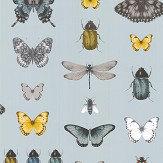 Clarke & Clarke Papilio Mineral / Gilver Wallpaper