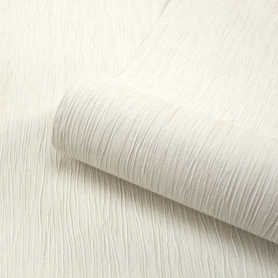 Perlina Texture Wallpaper - Ivory - by Albany