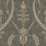 Albany Tiffany Lustre Monika Mocha Wallpaper - Product code: 9364
