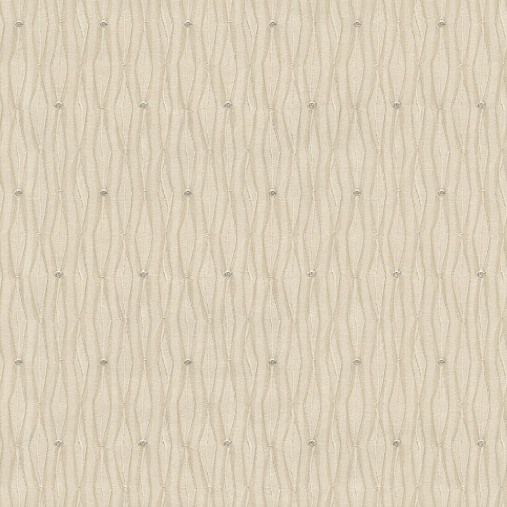 Albany Tiffany Lustre Bead Gold Wallpaper main image