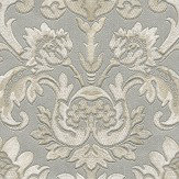 Albany Sorrentino Damask Silver Wallpaper - Product code: 9812