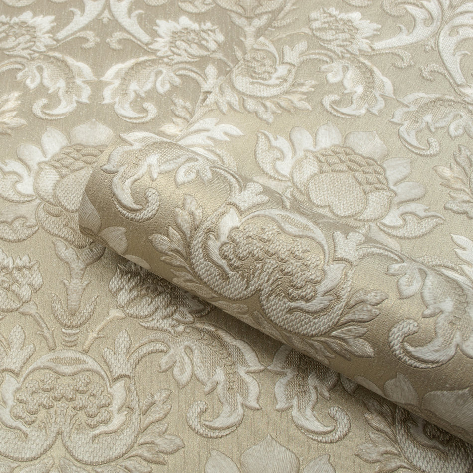 Albany Sorrentino Damask Gold Wallpaper - Product code: 9811