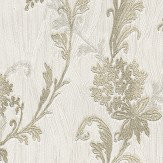 Albany Tiffany Oyster Trail Ivory Wallpaper - Product code: 76001