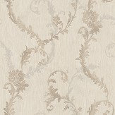 Albany Tiffany Oyster Trail Cream Wallpaper - Product code: 76002