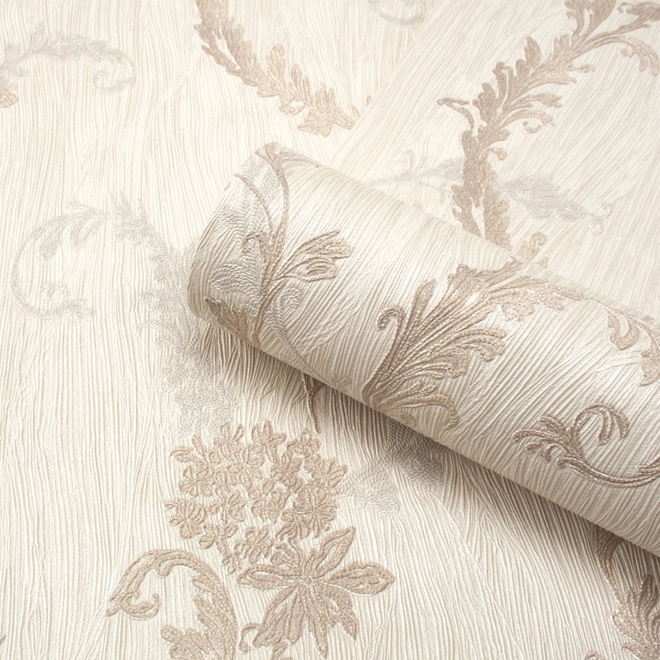 Tiffany Oyster Trail by Albany - Cream - Wallpaper - 76002