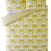 Orla Kiely Tulip Flannelette Pillowcase Pair Dandelion