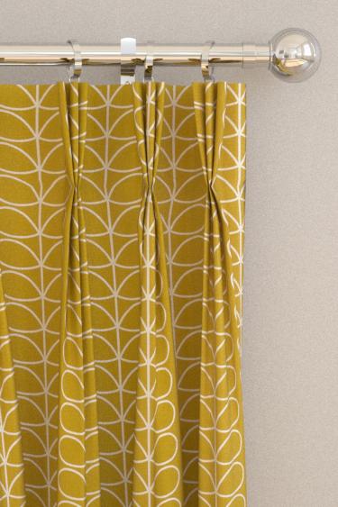 Linear Stem Curtains By Orla Kiely
