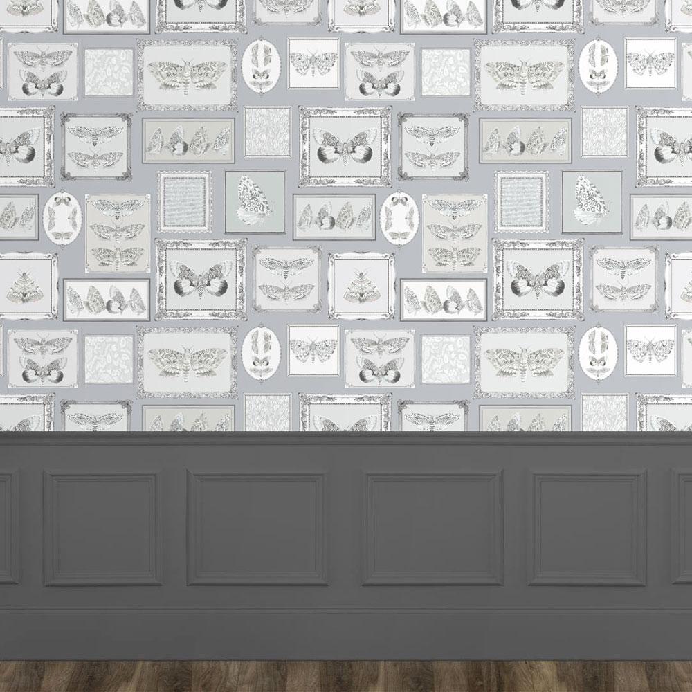Voyage Luna Wallart Charcoal Mural - Product code: WA170079