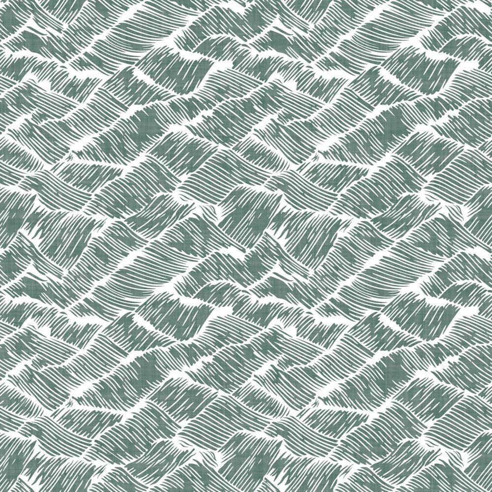Coordonne Auguste Green Wallpaper - Product code: 6600005