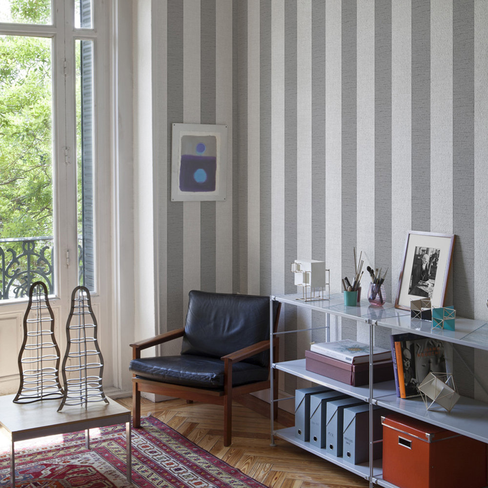 Coordonne Alfred Silver Wallpaper - Product code: 6600054