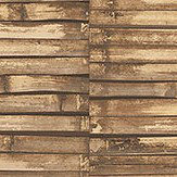 Galerie Bamboo Wall Brown Wallpaper