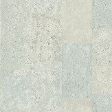 Galerie Cork Tile Sea Green Wallpaper - Product code: G56396