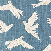 Sanderson Paper Doves Denim Fabric - Product code: 226352