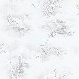 Galerie Seagulls Grey Wallpaper