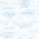 Galerie Cloudy Sky Blue Wallpaper