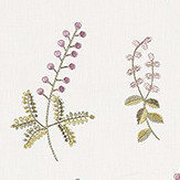 Sanderson Bilberry Celadon / Fig Fabric