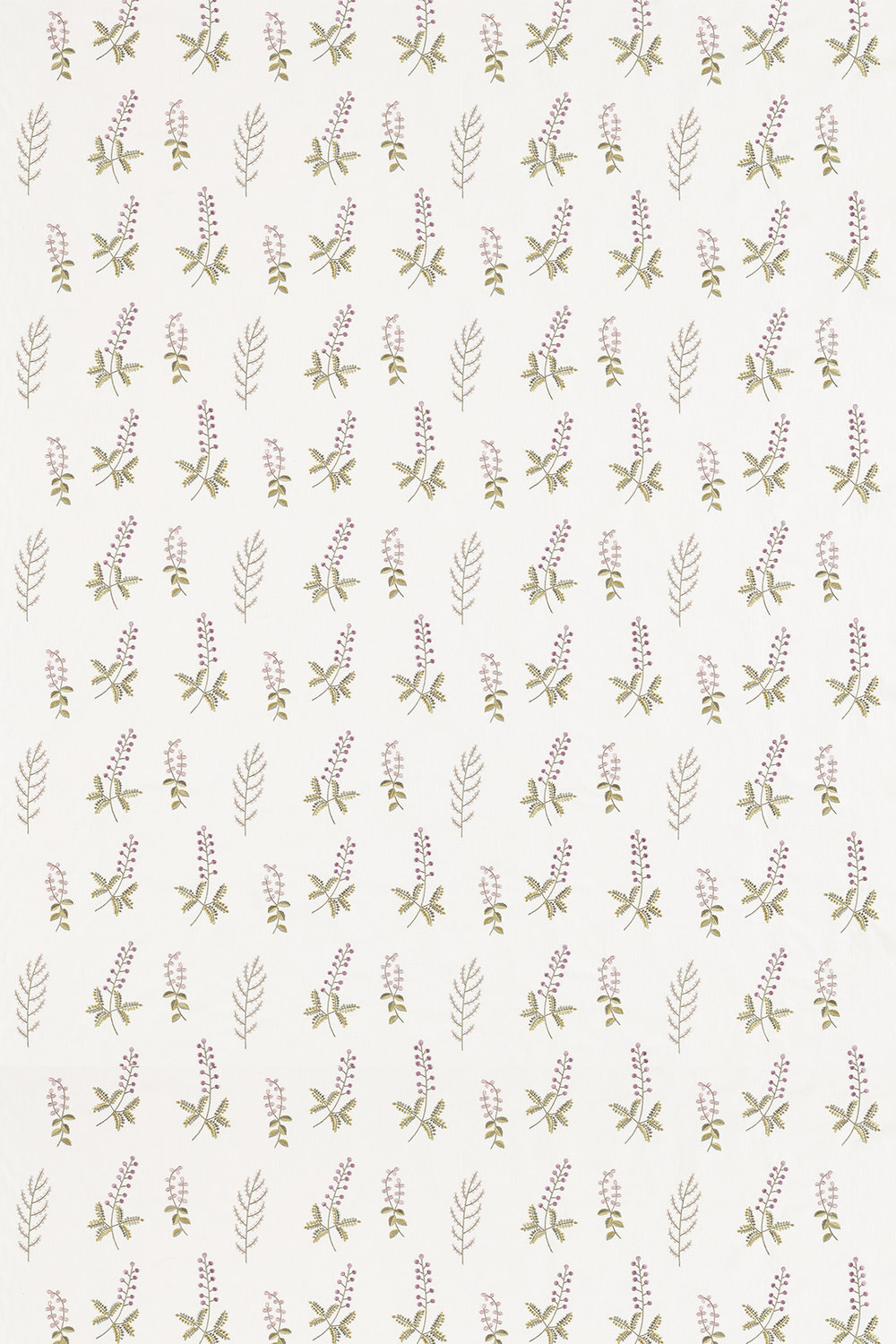Sanderson Bilberry Celadon / Fig Fabric main image