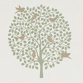 Sanderson Bay Tree Celadon Fabric