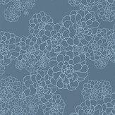 Paint & Paper Library Aeonium Blue Blood Wallpaper - Product code: 0393AEBLUEB