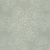 Paint & Paper Library Aeonium Steel Wallpaper